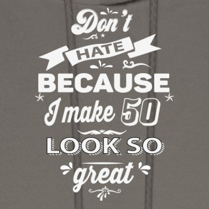 50th birthday designs - Men's Hoodie