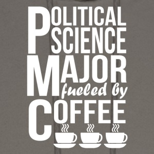 Political Science Major Fueled By Coffee - Men's Hoodie