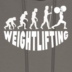 Weightlifting Evolution - Men's Hoodie