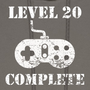 Level 20 Complete 20th Birthday - Men's Hoodie