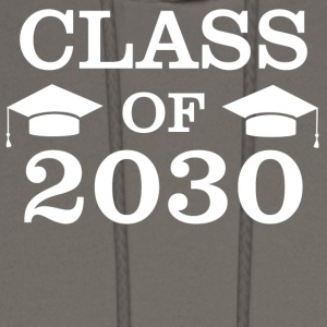 Class Of 2030 Funny Kindergarten Graduation - Men's Hoodie