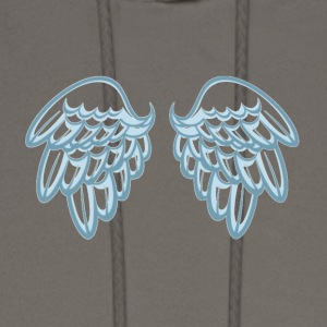 Cupid Wings - Men's Hoodie