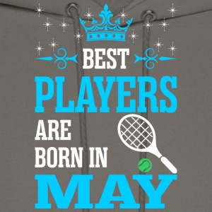 Best Players Are Born In May - Men's Hoodie