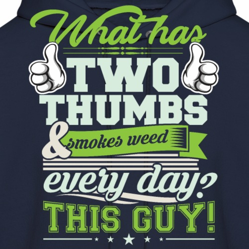 Two Thumbs Up! - Men's Hoodie