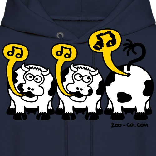 Kelly green Singing Cows Women's T-Shirts - Men's Hoodie