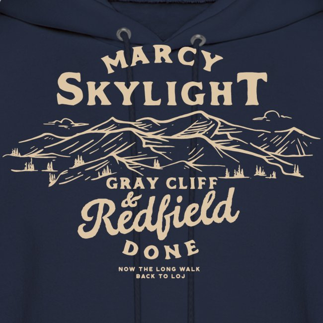 Marcy, Skylight, Gray, Cliff, and Redfield. Done.