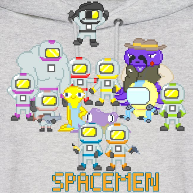 all the spacemen png