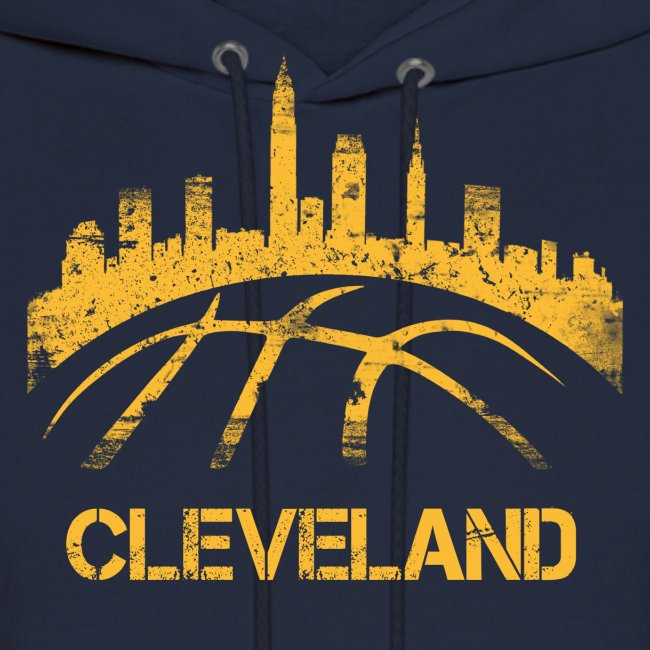 Cleveland Basketball Skyline