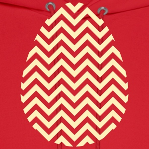 Gold Easter Egg Chevron - Men's Hoodie