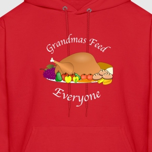 Grandmas Feed Everyone - Men's Hoodie