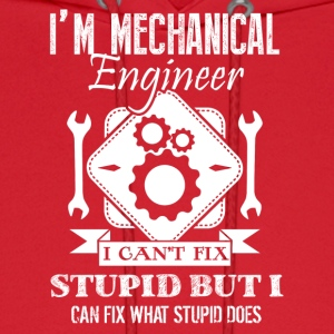 Mechanical Engineer Shirt - Men's Hoodie