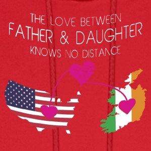 The Love Between Father And Daughter - Men's Hoodie