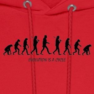 evolution - Men's Hoodie
