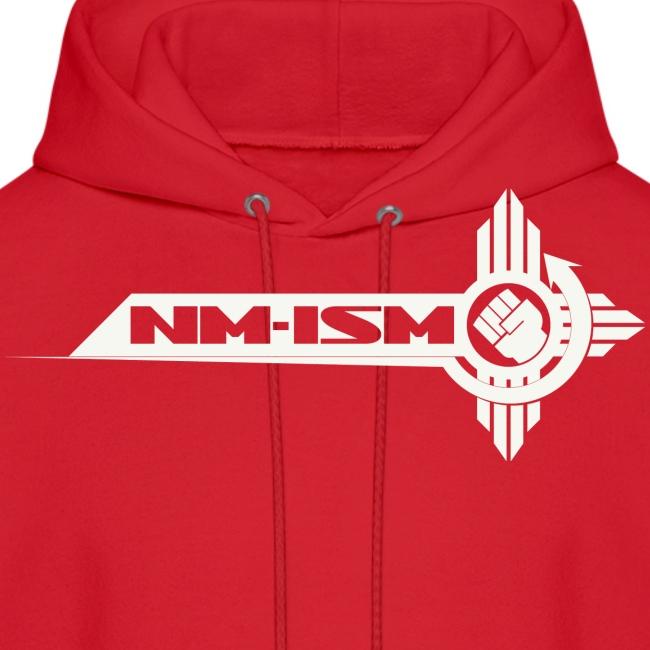 White NM-ISM Logo