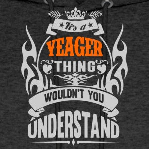 YEAGER THING TSHIRT - Men's Hoodie