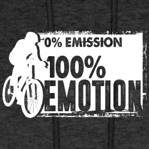 0% Emission - 100% Emotion - Men's Hoodie