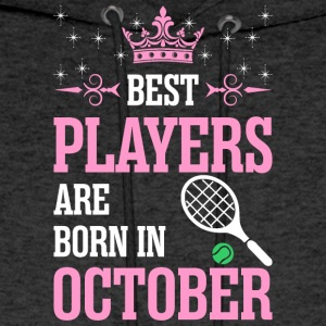 Best Players Are Born In October - Men's Hoodie