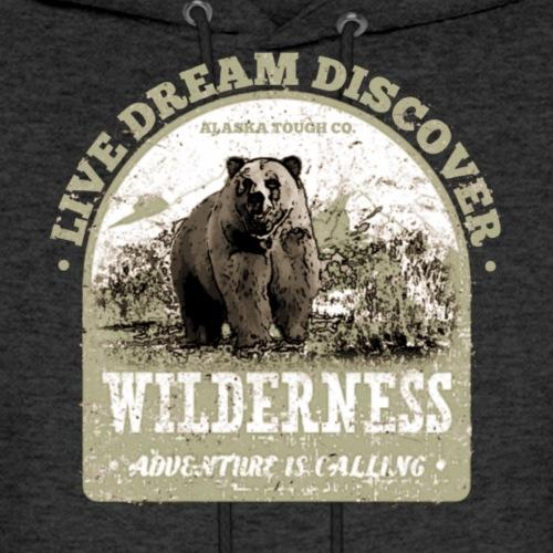 Live Dream Discover Adventure - Men's Hoodie