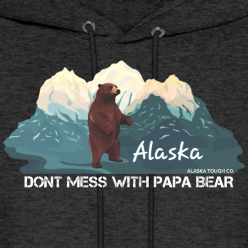 Dont Mess with Papa Bear - Men's Hoodie