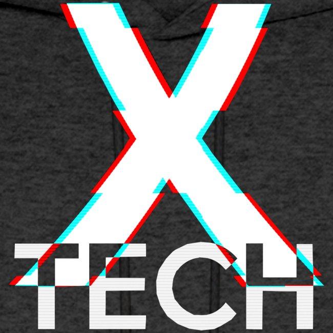 X-Tech Logo - White