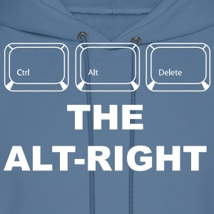 Ctrl Alt Delete The Alt Right - Men's Hoodie