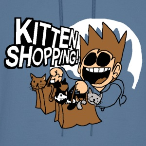 EDDSWORLD KITTEN SHOPPING - Men's Hoodie