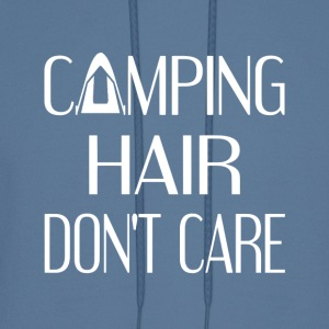 Camping Hair Don't Care - Men's Hoodie
