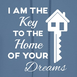 Real Estate- I'm the Key to the Home of your Dream - Men's Hoodie