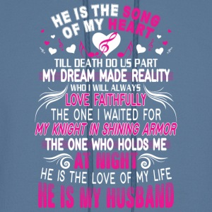 He Is My Husband T Shirt - Men's Hoodie