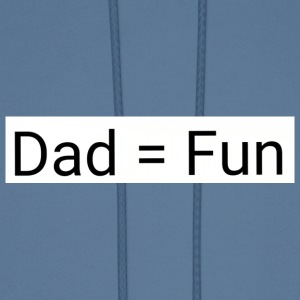Dad = fun - Men's Hoodie