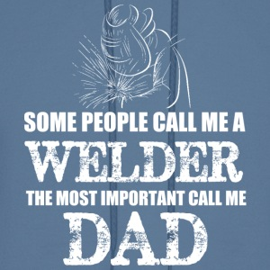 WELDER DAD T Shirt - Men's Hoodie