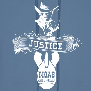 MOAB - Mother Of All Bombs T-Shirt Justice - Men's Hoodie