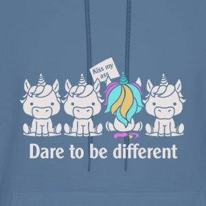 Dare to be Different Unicorn - Men's Hoodie