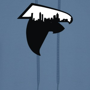 Atlanta Skyline Falcons Logo - Men's Hoodie