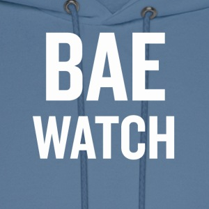 Bae Watch White - Men's Hoodie