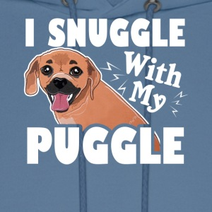 I Snuggle With My Puggle Shirt - Men's Hoodie