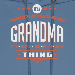 It s A Grandma Thing - Men's Hoodie