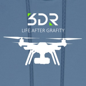3DR DRONE SOLO - Men's Hoodie