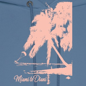 Miami To Diani Pink Edition - Men's Hoodie
