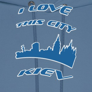 KIEV I love this city - Men's Hoodie
