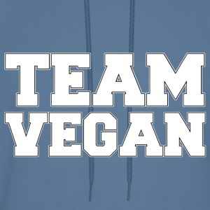 TEAM VEGAN [white] - Men's Hoodie