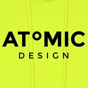 Atomic Design Brand Logo - Men's Hoodie
