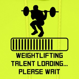 Weightlifting Talent Loading - Men's Hoodie