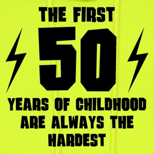 The First 50 Years Of Childhood - Men's Hoodie