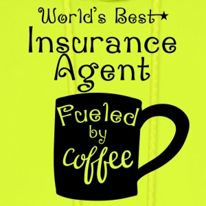 World's Best Insurance Agent Fueled By Coffee - Men's Hoodie