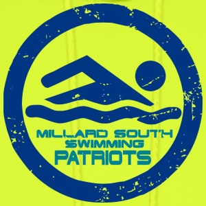 MILLARD SOUTH SWIMMING PATRIOTS - Men's Hoodie