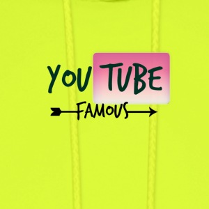 Youtube Famous - Men's Hoodie
