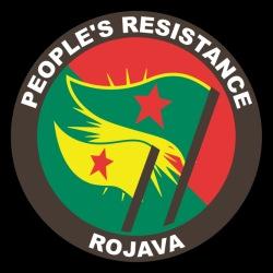 People\'s resistance. Rojava