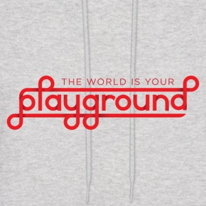 The World Is Your Playground - Men's Hoodie