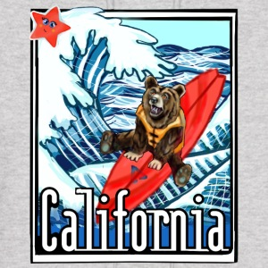 California Flag On Vacation - Men's Hoodie